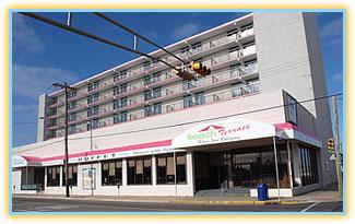 Beach Terrace Motor Inn 3400 Atlantic Avenue Wildwood New Jersey Call Toll Free 1 800 841 8416